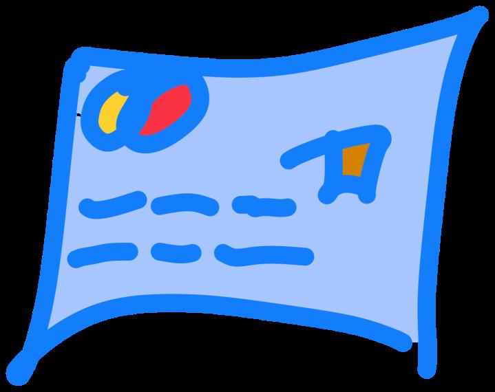 Dibujo tarjeta de crédito